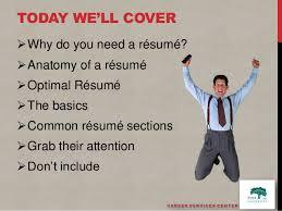 do you need a resume