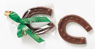 horseshoe party favors horseshoe favors chocolate 3 50 and summer wedding