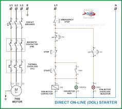 motor starter diagram wiring diagram components