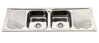 Kitchens Sinks InsetFlushline Geelong Square Sink Mm - Kitchen sink double bowl double drainer