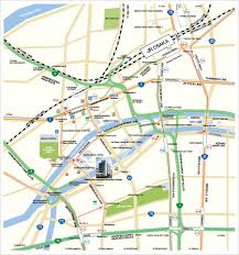 Osaka Subway Map by By Public Transpotation U2013 Osaka International Convention Center