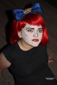 comic strip halloween makeup doodlecraft comic book pop art hair bow u0026 make up