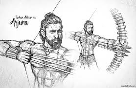 these fantasy character sketches for rajamouli u0027s u0027mahabharata u0027 are