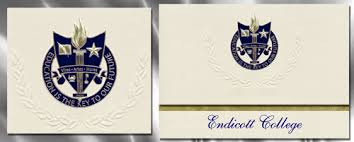 formal college graduation announcements endicott college graduation announcements endicott college