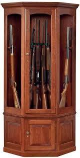american furniture classics 16 gun cabinet amish gun cabinets oak cherry maple gun cabinets