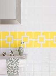 How To Paint A Tile Floor Bathroom - how to paint ceramic tile diy painting bathroom tile