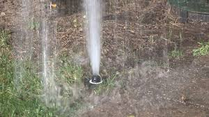 finding leaks in your in ground sprinkler system youtube