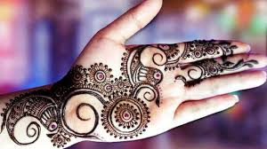 henna design arabic style mehandi design arabic style step by step tutorial youtube