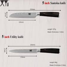 what is a set of kitchen knives aliexpress buy high grade stainless steel kitchen knives