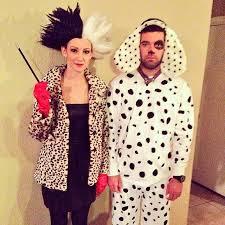 Cruella Vil Halloween Costume Cruella Vil Dalmatian Puppy Dalmatian Halloween Couples