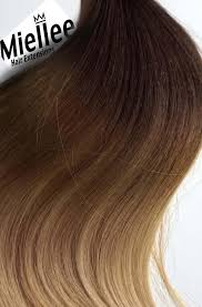Balayage For Light Brown Hair Light Golden Brown Balayage Weft Hair Extensions Remy Human Hair
