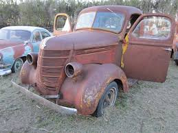 rusty car driving heartland vintage trucks u0026 pickups