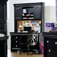 Black Corner Computer Desk With Hutch by Black Office Desk Hutch Interior Design
