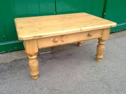Pine Side Table Table Rszdwaxed Pine Farmhouse Coffee Table With Drawer Tables