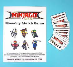 printable lego ninjago games memory u0026 shadow match happiness