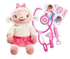 disney junior doc mcstuffins take care of me lambie toys