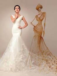 trumpet wedding dresses trumpet mermaid wedding dresses cheap mermaid style bridal