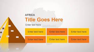 africa slide design template for powerpoint slidemodel