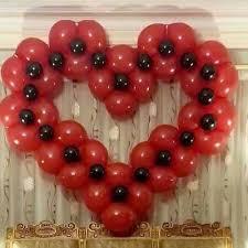 Balloon Decoration For Valentine S Day by Party Fiesta Balloon Decor Seasonal And Holiday Ballon Decor