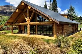 log house glenorchy log home stunning mountain views in glenorchy