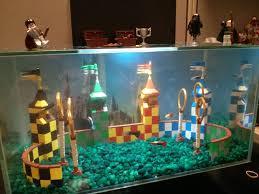 lego office my lego quidditch aquarium at my office harrypotter