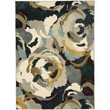 Mohawk Accent Rugs Mohawk Home Odin Lagoon 8 Ft X 11 Ft Area Rug 534295 The Home