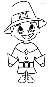 thanksgiving day coloring sheets printable pilgrims coloring pages for kids cool2bkids