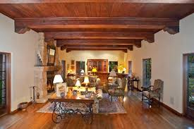 Living Room Ceiling Beams 20 Living Room Designs With Exposed Roof Beams Rilane