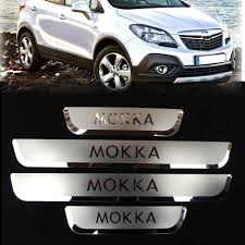 opel mokka 2015 fit for opel mokka vauxhall mokka 2012 2016 door sill step plates