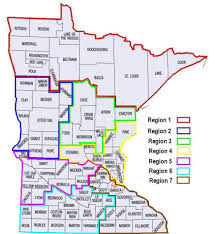 State Map Of Minnesota by Members Minnesota State Volunteer Firefighters Association