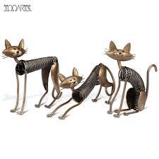 Animal Ornaments Popular Metal Cat Ornament Buy Cheap Metal Cat Ornament Lots From
