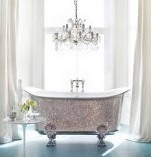 Best Bling Bathroom Ideas On Pinterest Mosaic Bathroom - Silver bathroom