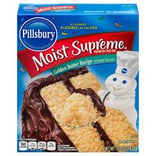 pillsbury moist supreme premium german chocolate cake mix 15 25