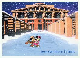 10 truly amazing historic disney christmas cards disney insider