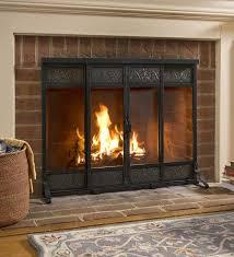single panel fireplace screen ideas u2014 the homy design