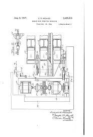 patent us2425016 hangar door operating mechanism google patents