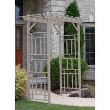 Homedepot Trellis Garden Arbor With Gate Home Depot Home Outdoor Decoration