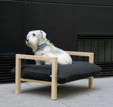 Doggie Beds Modern Elevated Dog Bed From Hat Design Dog Milk