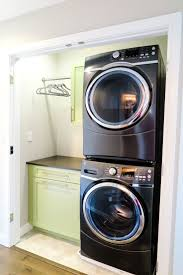 Decor For Laundry Room by 25 Best Stacked Washer Dryer Ideas On Pinterest Stackable