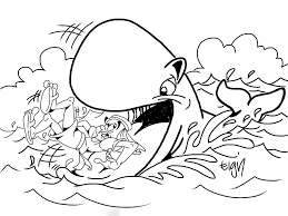 jonah coloring pages jonah and the whale coloring pages printable