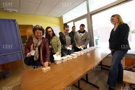 les bureaux de vote edition belfort héricourt montbéliard dans les bureaux de vote du