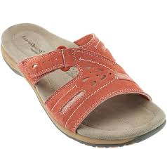 earth origins suede or leather slide sandals sizzle page 1