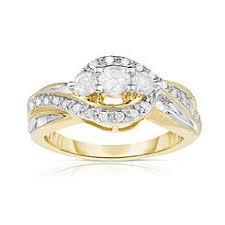 bridal gold ring three rings bridal sets kmart