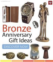 bronze anniversary gifts top bronze anniversary gift ideas for men s