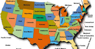 map of united states political map of usa free printable maps