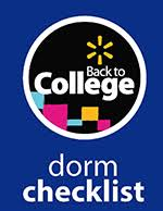 your back to college checklists walmart com