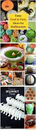 easy halloween food ideas all about