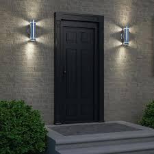 white plastic outdoor lighting lighting outdoor flood light fixtures lowes led canada black white