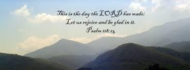 bible verse celebrating