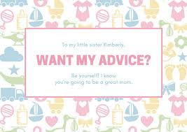 for baby shower customize 175 baby shower card templates online canva